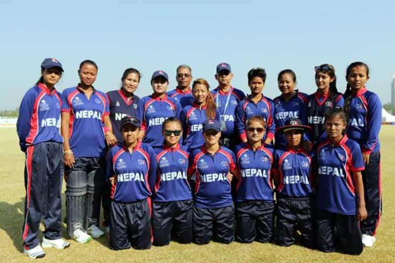 महिला क्रिकेट टोली स्वदेश फिर्ता