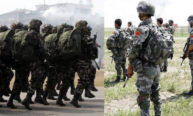 भारतले भन्यो:-नेपाल र चीनबीचको संयुक्त सैन्य अभ्यास नोक्सानीपूर्ण