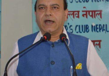 भारतीय नेता जोली भन्छन् :-नेपालका नेताहरु हामीलाई नै अभिभावक मान्नुहुन्छ