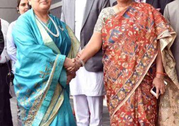राष्ट्रपतिको अपमान भएको भन्दै भारत भ्रमण छोट्याईयो