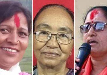 ९२ नगरपालिकामा चुनाव हुँदा ३ महिला मेयर