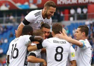 कन्फेडेरेसन कप :जर्मनले  रसियालाई हरायो
