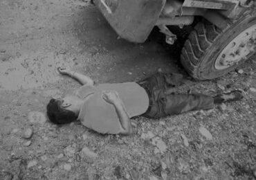 ट्रिपरले किचेर मजदुरको मृत्यु
