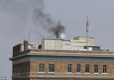 अमेरिकास्थित रुसी वाणिज्य दूतावासमा धुँवाको मुस्लो