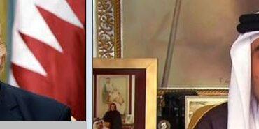 अमेरिकी राष्ट्रपति र कतारका राजाबीच भेटवार्ता