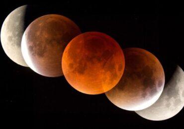 खग्रास चन्द्रग्रहण सकियो