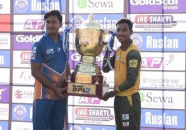डीपीएल क्रिकेट फाइनल:धनगढी चौराह र काठमाडौं गोल्डेन्स भिड्दै