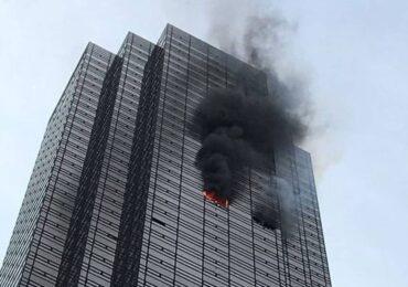 न्यूयोर्कस्थित 'ट्रम्प टावर'मा आगलागी, एकको मृत्यु ६ जना घाइते