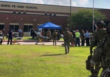 टेक्सासको सान्ताफे हाई स्कूलमा गोली प्रहार ,१० जनाको मृत्यु
