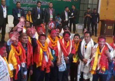 एन्फा अध्यक्षमा शेर्पा प्यानलसहित विजयी