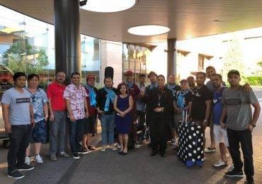 नेप्लिज अमेरिकन सम्मेलनको लागि डिसीमा कन्दरा ब्याण्ड