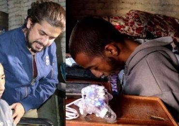 भगवान मान्ने फ्यानलाई भेट घरमै पुगे प्रमोद खरेल , भावुक हुँदै गरे १० हजार सहयोग