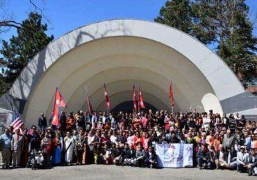 नयां बर्ष २०७६ को उपलक्ष्यमा कोलोराडोमा नेपाल डे परेड सम्पन्न