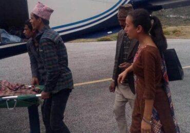 विमान चार्टर गरेर गर्भवतीको उद्धार