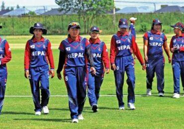 महिला क्रिकेटमा नेपाल बङ्गलादेशसँग १० विकेटले पराजित