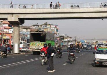 पोखरामा आकाशे पुल निर्माण शुरुवात