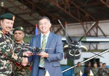 अमेरिकाले दियो नेपाली सेनालाई शक्तिशाली विमान