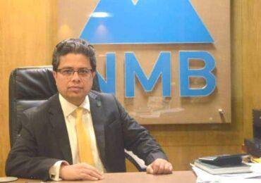 """विदेशबाट लगानी भित्र्याएको एनएमबी बैंकका सिइओ भने, """"म सेलिब्रेटी बैंकर होइन"""""""